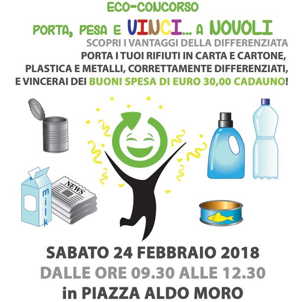 Novoli. 1^ edizione dell'eco-concorso Porta, Pesa e Vinci